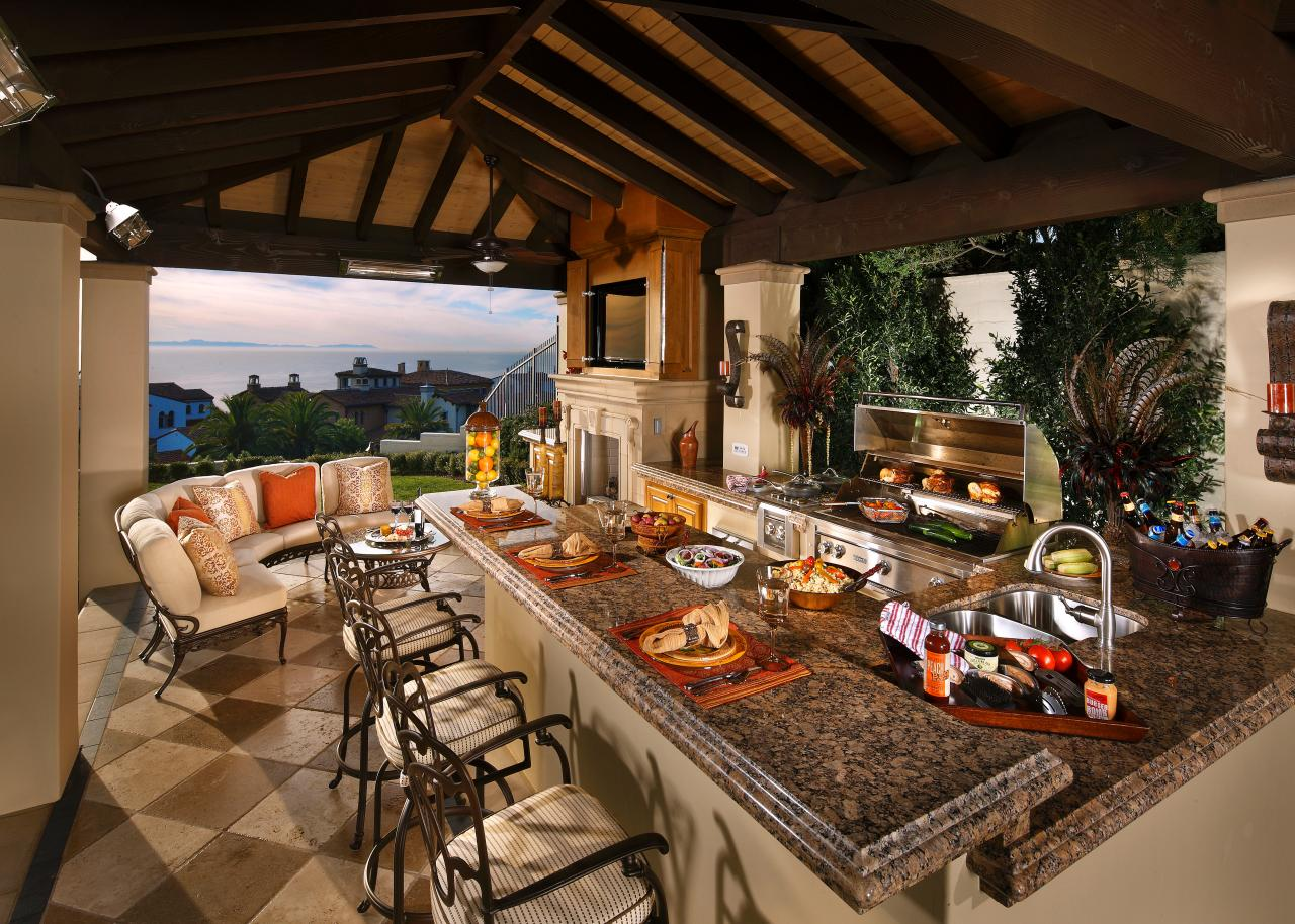 Luxurious Outdoor Kitchensmodernismhomecom