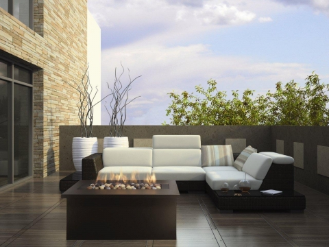 Minimalist Patio Designs Picture