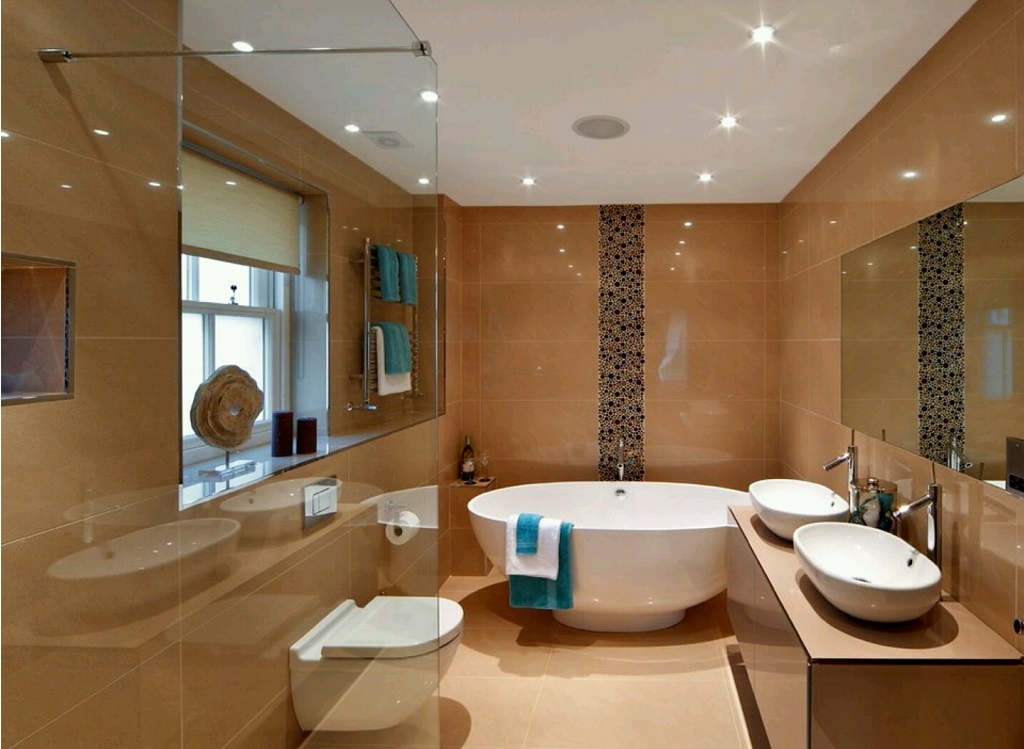 modern bathroom decors