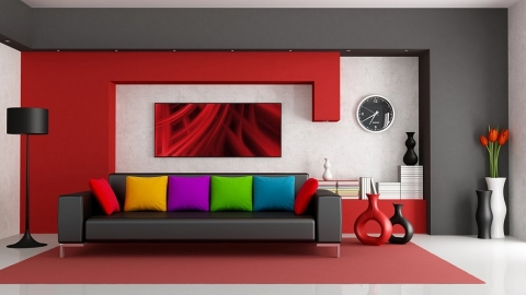 Modern interior design solutions for families on