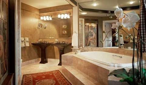 Ways of making your bathroom look luxurious