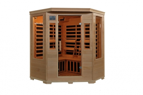Modern Home Saunas with Clever Features Picture